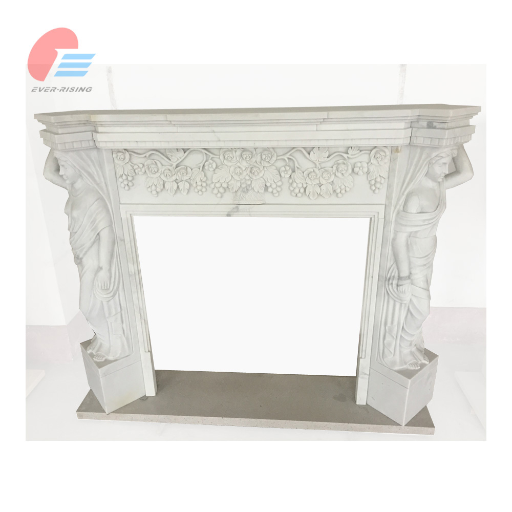 angel carved fireplace mantel angel carved fireplace mantel
