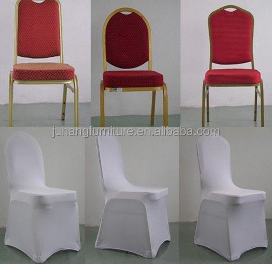 Foshan Factory large wholesale hot sale White scuba stretch spandex chair cover/chair cloth