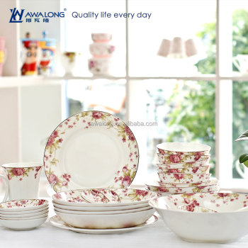 28pcs Flower Painting Fine Bone China Best Sale Dinner Japanese Ceramic Tableware Hot Sale Rustic  sc 1 st  Alibaba : best bone china dinnerware - pezcame.com
