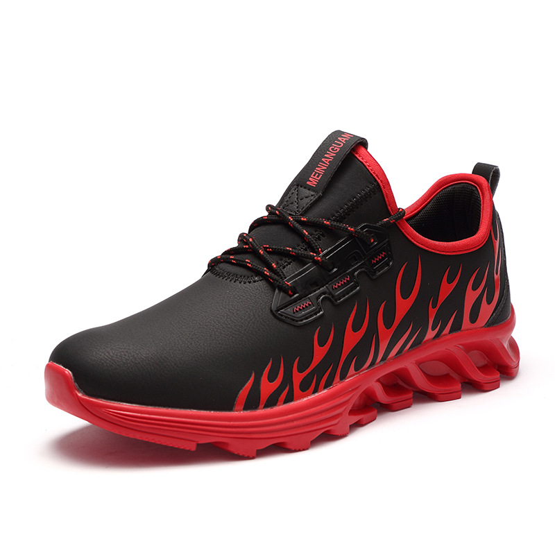synthetic sneakers men High running absorption leather quality shock shoes O4a4wR5qn