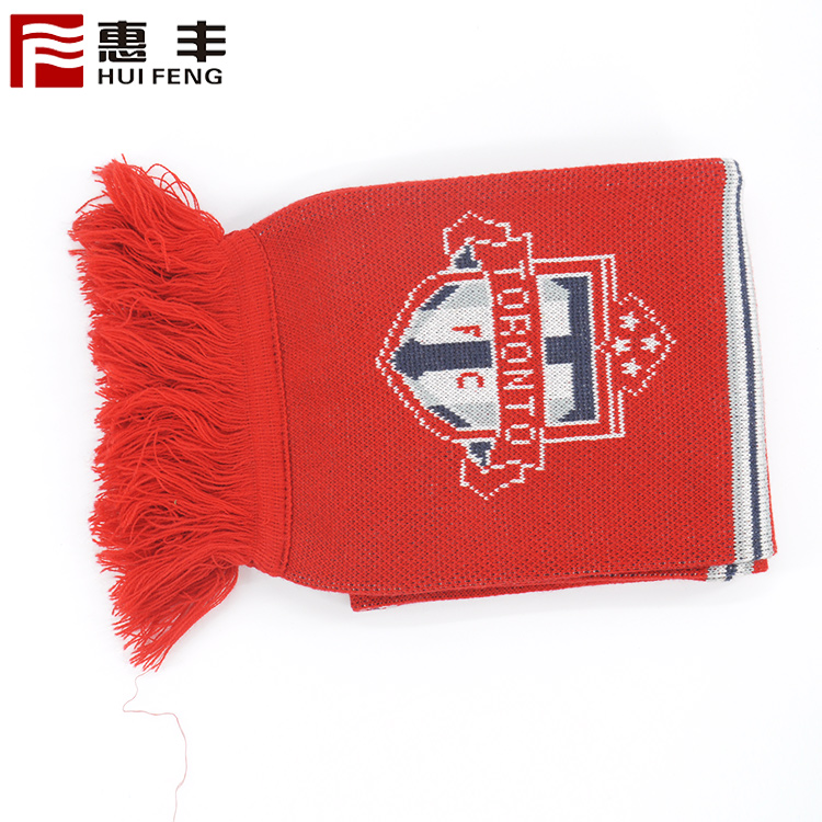 China wholes Toronto football sports scarf football team fans scarf