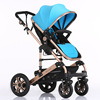 wholesale adjustable handle en1888 top quality baby stroller 3 in 1/high quality baby strollers/french baby strollers CE