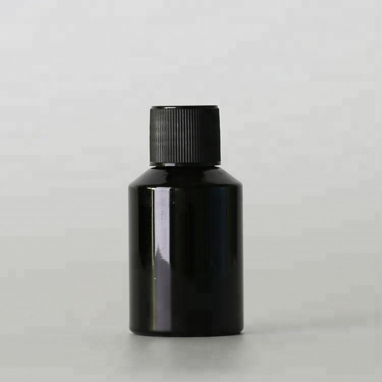 Fábrica de China 30 ml petg plástico tornillo tapa de la botella de aceite esencial