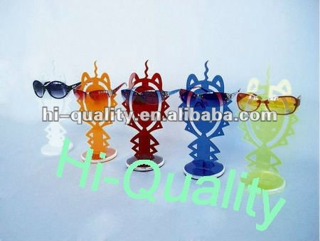 2012 Creative Sunglass Display Stands/ Fairy Acrylic sunglass shelf