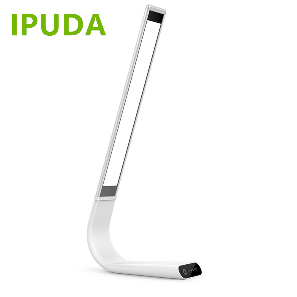 new business idea for 2017 IPUDA flexible led bed side reading lamp with touch dimmable control 2000mAh rechargeable battery