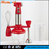 Deluxe Hand Blender set blender with 700W DC Motor stainless steel stick with turbo button