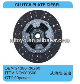 31250-26260 FOR TOYOTA HIACE CLUTCH DISC
