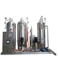 High gas carbonated drink mixing machine / soda water making machine