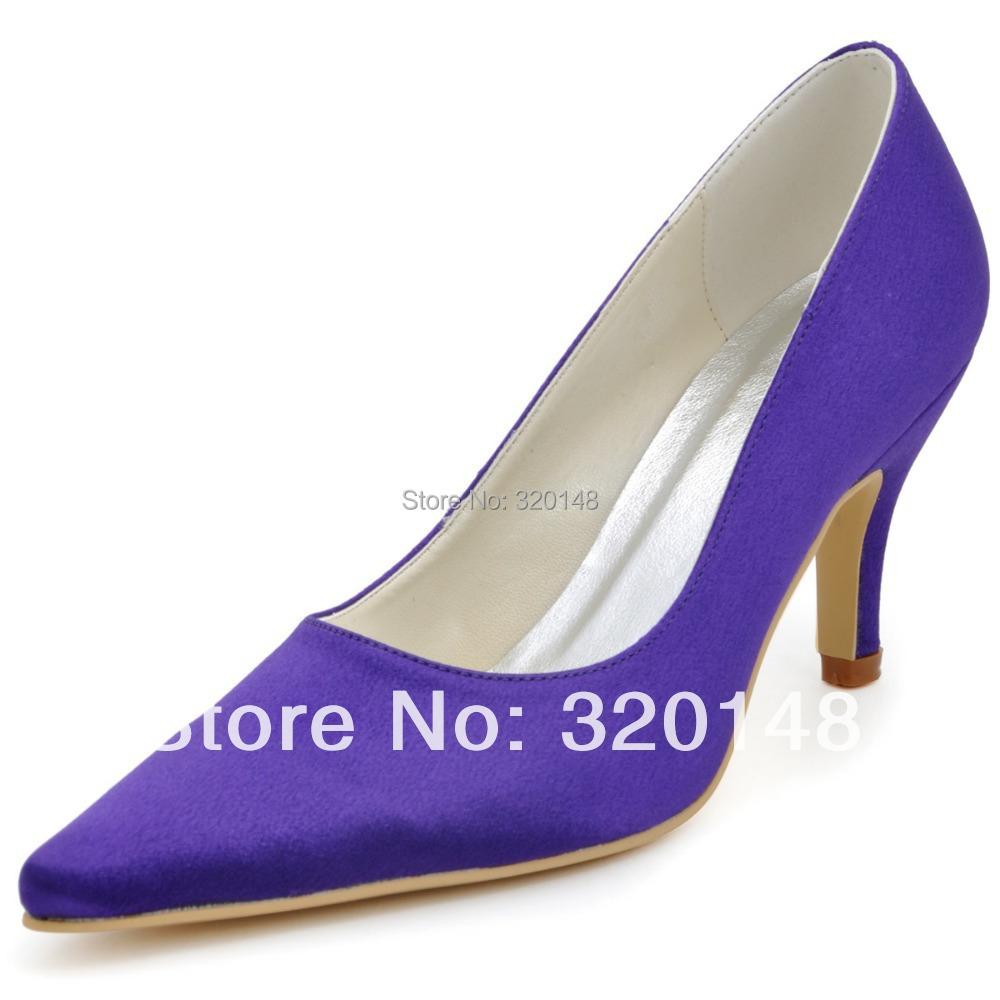 Cone Heel Platform Shoes