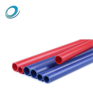 Full Form Sizes PVC Colored Small Plastic Electrical Conduit Pipe Per Meter Price List