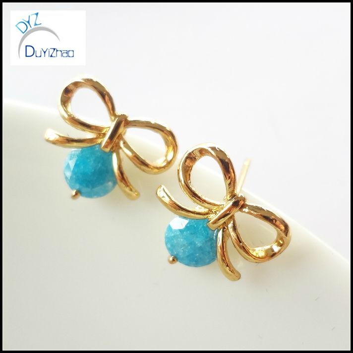Gold Ear Tops Designs For Women - Buy Women Earrings,Nice Designer ...