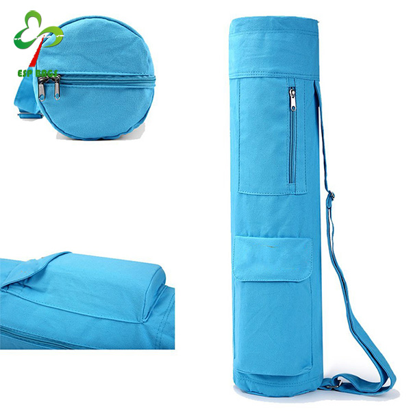 Multifunctional Canvas Yoga Mat Bag With Expandable Pocket Full Zipper Design Yoga Mat With Bags Buy Yoga Mat Bag Yaga Mat With Bag Yoga Mat Bag Canvas Product On Alibaba Com