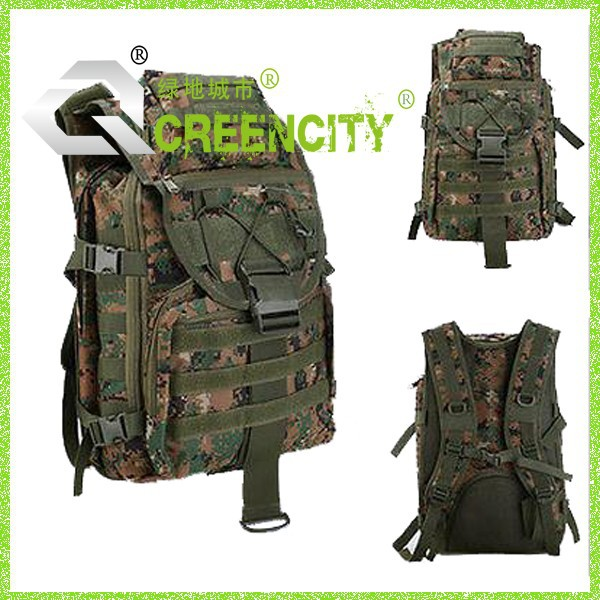 Outdoor bag Military Tactical Backpack Rucksacks Camo Camping Hiking Bag