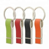 Leather Whistle USB Flash Drive Business Memory Stick 2GB Pendrive
