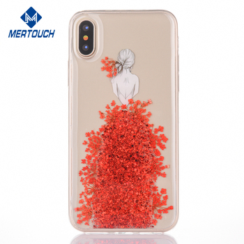 huge selection of e27ec 84ad1 For Iphone X Tpu Phone Case Transparent Liquid Flower Sexy Girl Cover For  Iphone 10 Mobile Phone Accessories Wholesale - Buy For Iphone X Tpu Phone  ...