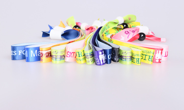Satin Wristbands Bracelet Silk Ribbons Manufacturing In China ...