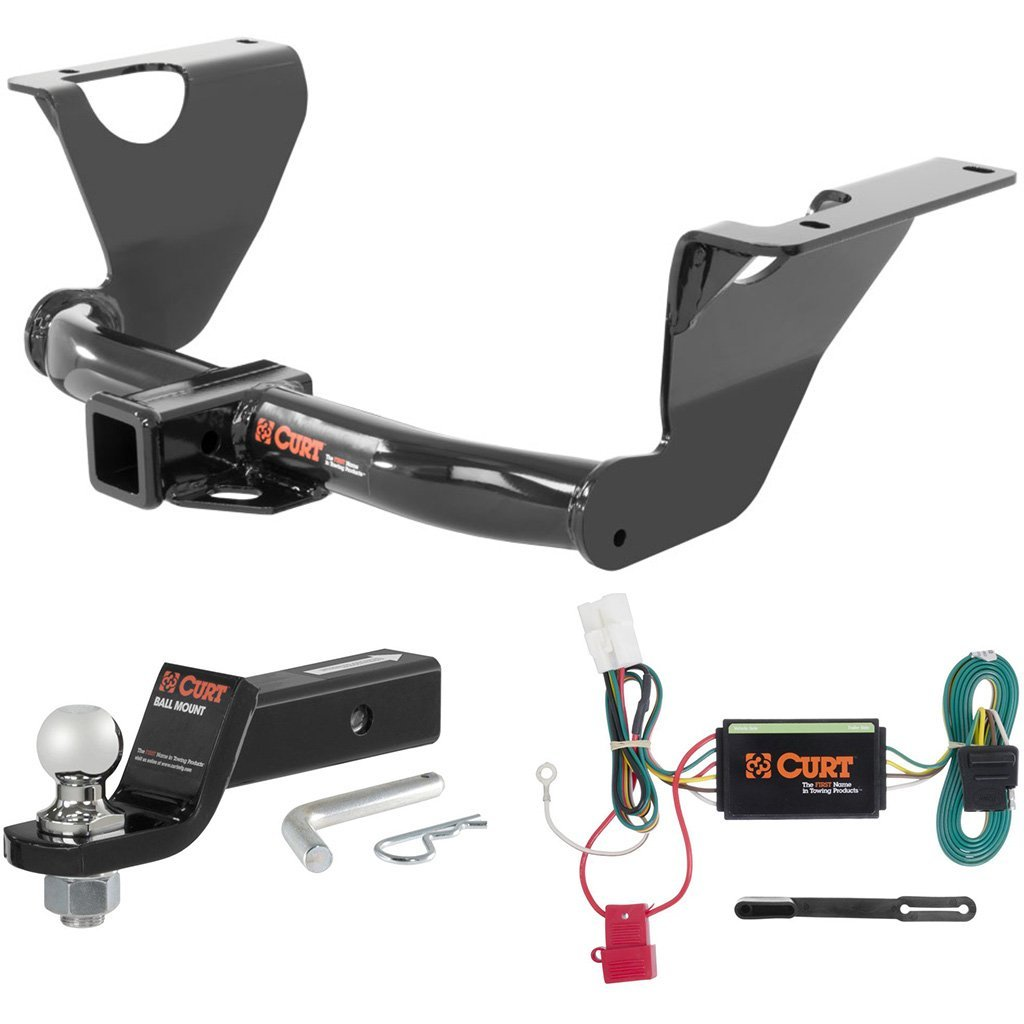 """CURT Class 3 Hitch Tow Package with 1-7/8"""" Ball for 2014-2016 Subaru Outback"""