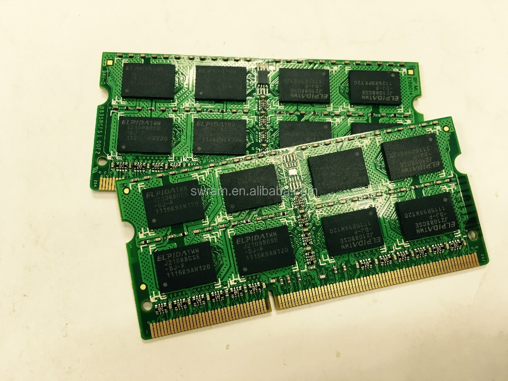 Notebook ram memory DDR3 4GB 256*8 16IC Original chips, working with all mother board