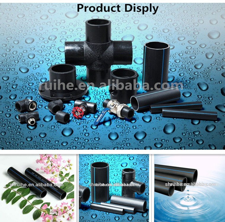Professional hdpe fittings stub flange adapter
