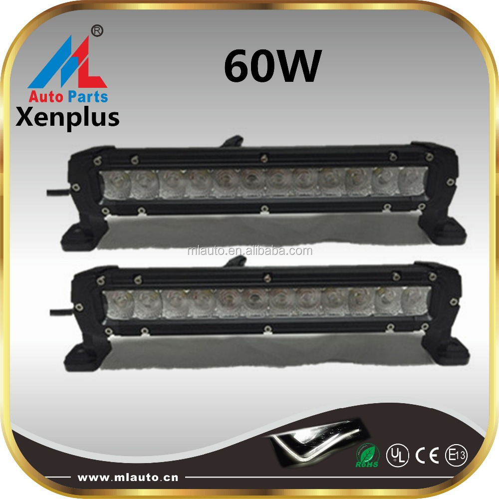 Work light 9-36VDC 60W 16inch 7200lm dual beam combo portable fluorescent led off-road light bar