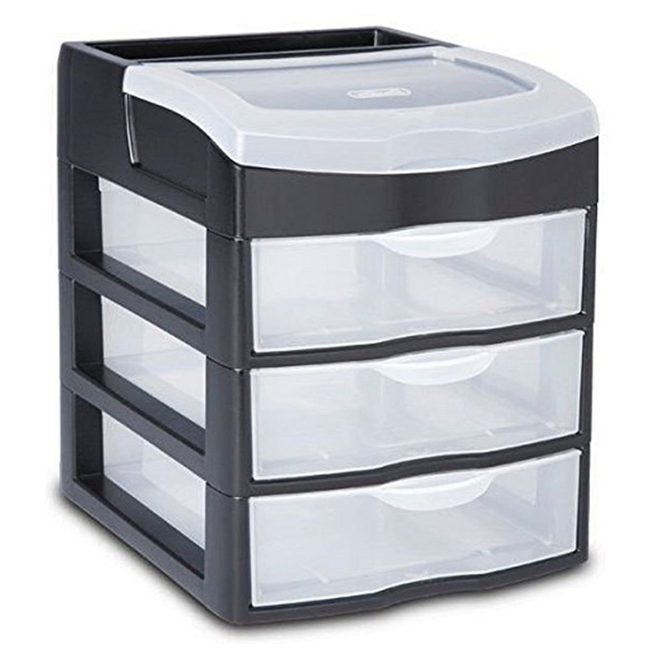 Get Quotations · 3 Drawer Mini Plastic Storage Drawers Clear Rack Container Organizer  sc 1 st  Alibaba & Cheap Plastic Storage 3 Drawers find Plastic Storage 3 Drawers ...