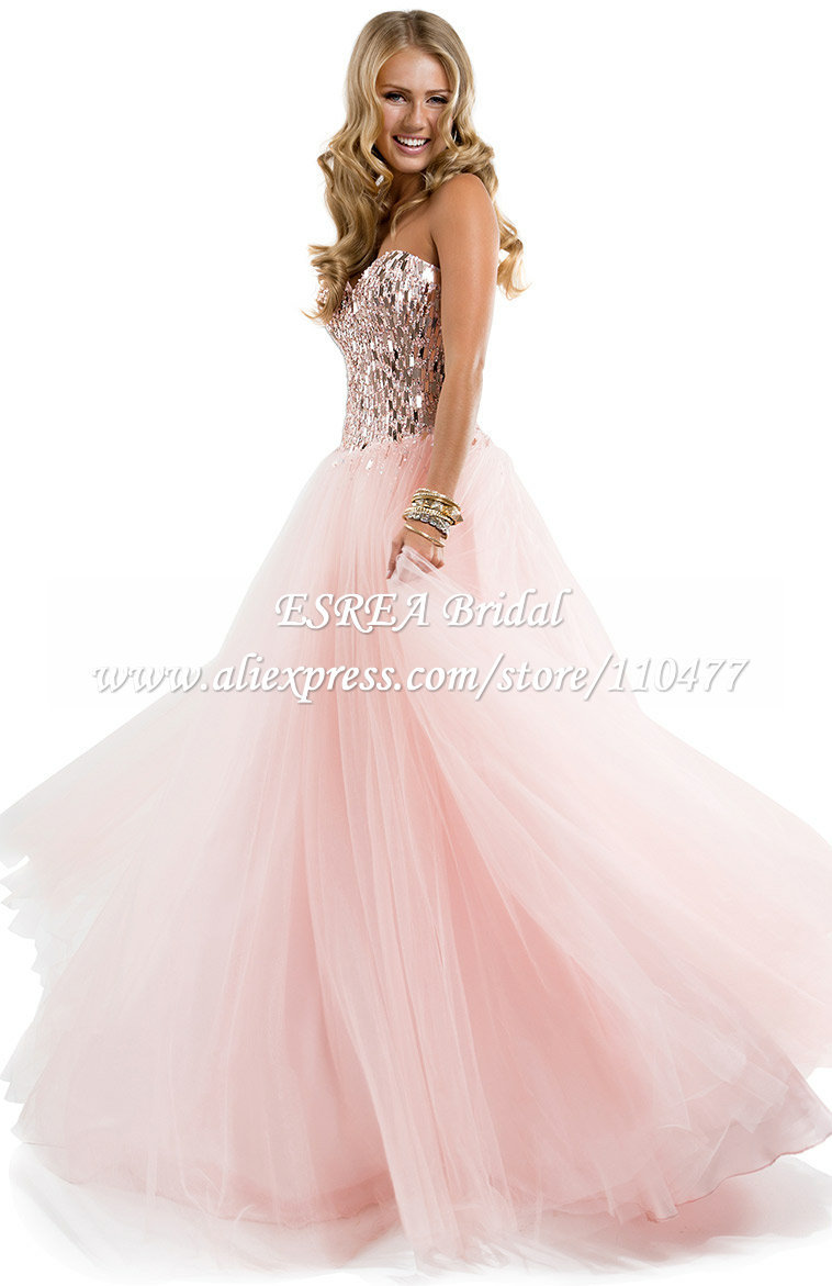 Cheap Pink Sparkly Ball Gown, find Pink Sparkly Ball Gown deals on ...