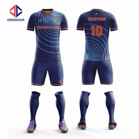 Trendy Style High Quality Free Design Custom Wholesale Football Shirt