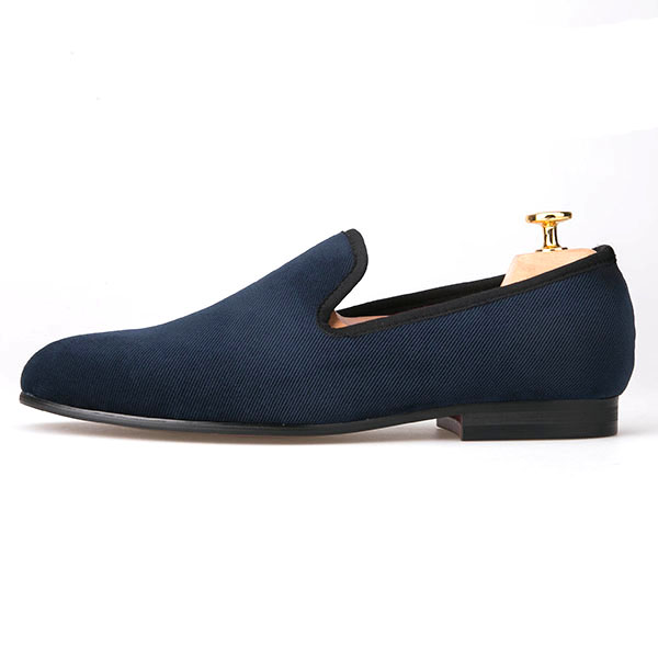 Shoes Wedding Mens Blue Plain Factory Piergitar xnazvqI