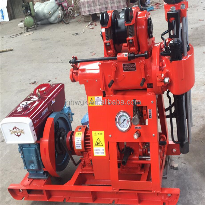 100M Core Drilling Rigs / Hydraulic Exploration Water Well Drilling Machine / Oil And Electric Power Drilling