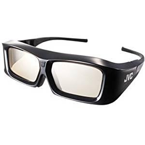JVC PKAG2BG 1080p USB Rechargeable Active 3D Shutter Glasses