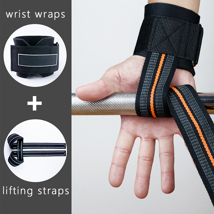 Fabric Wrist Wraps Weightlifting