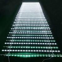 flexible led mesh curtain light /screen display led curtain adverting backlight light