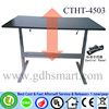 Manual ergonomic computer table design height adjustable working desk pc desk