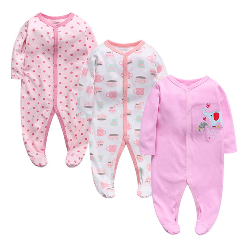 Ropa Bebes Wholesale Cotton Clothes Winter <strong>Baby</strong> <strong>Jumpsuit</strong> Newborn Long Sleeve <strong>Baby</strong> Pajamas