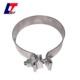 Genuine u clamp Stainless Steel Lap Joint Band Exhaust Clamp/high quality Torctite Buttle Joint Band Clamp