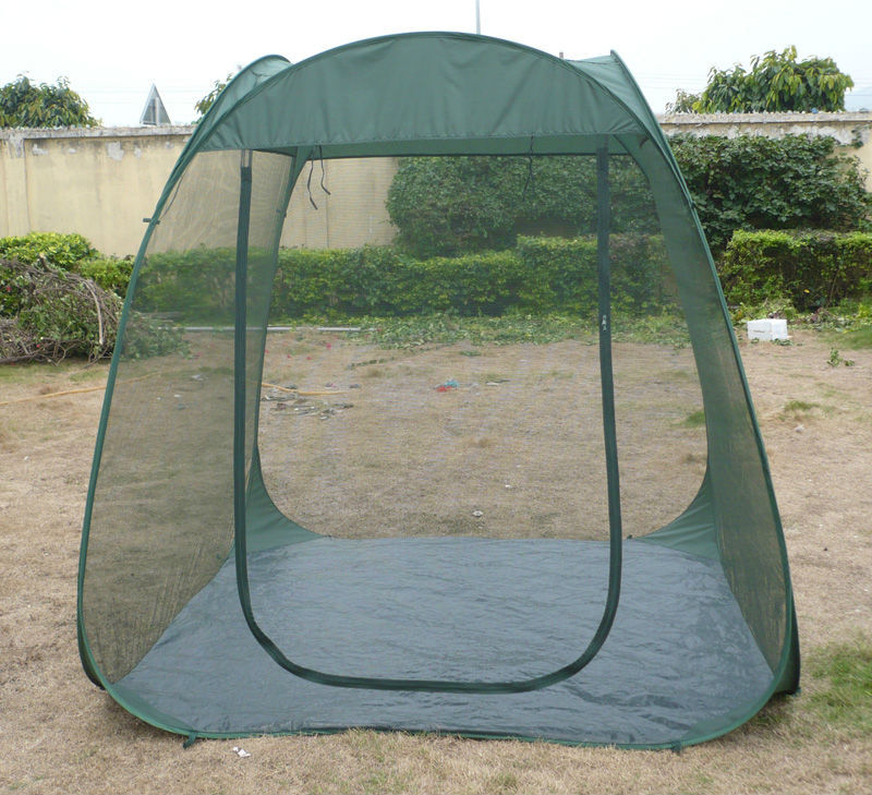 Steel Wire Mosquito Tent Pop Up Family Large Portable