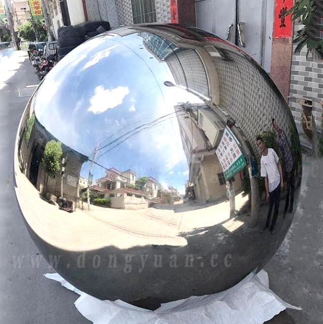 1500mm Large Garden Ornament Metal Spheres Stainless Steel