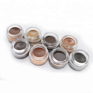 Your own brand makeup eyebrow best selling products eyebrow gel waterproof brow pomade 8 colors