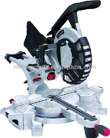 "255mm(10"") doule bevel miter saw with sliding"
