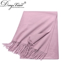 Fashion Ladies 100% Cashmere Pashmina Hijab Infinity Shawl Scarf From China