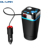 A28 3 in 1 Multifunction Cup Type Car Cigarette Lighter USB MP3 Player