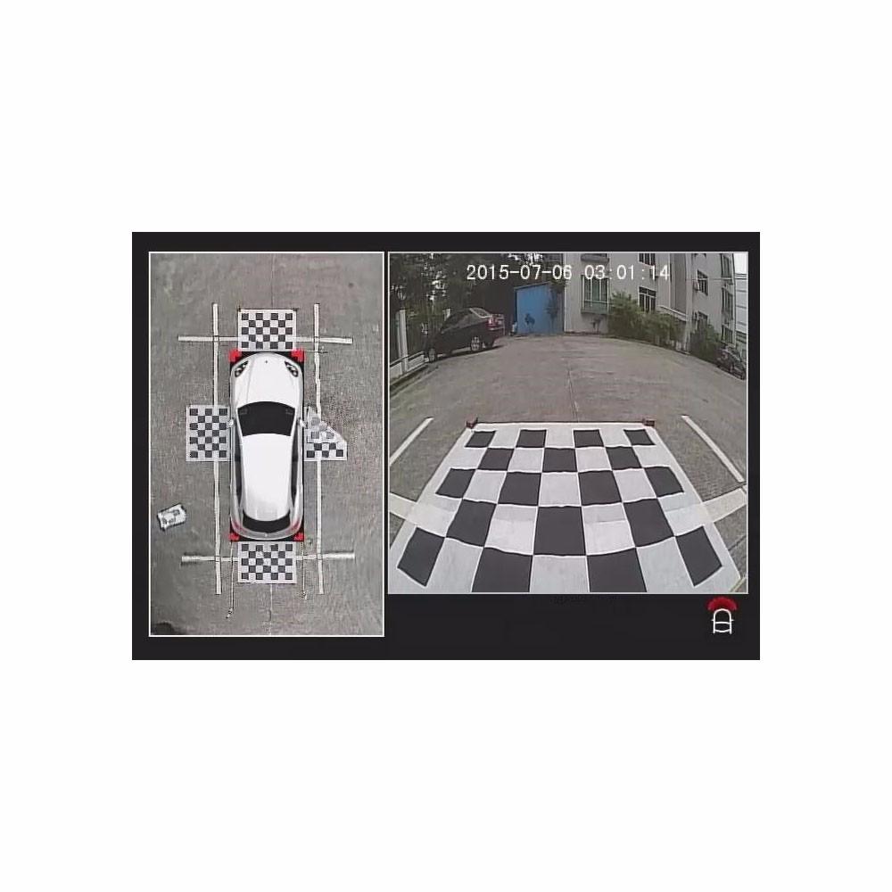 Car Dvr Camera 360 Degree All Round Bird View System For