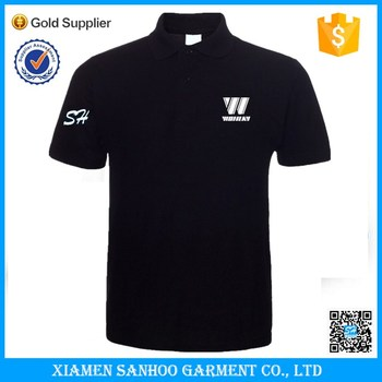 Short Sleeves Cotton Men Embroidery Custom Dry Fit Polo T Shirt Logo Printing Blank