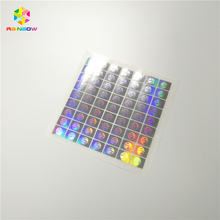 Hologram Cirkel Dot Stickers 1/2 Inch Ronde 3d Holografische <span class=keywords><strong>Labels</strong></span> stickers in Roll Formaat