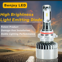 Hot Seller 6000LM High Power Automotive LED Headlight Bulb H7 With 50000 Hours Lifespan