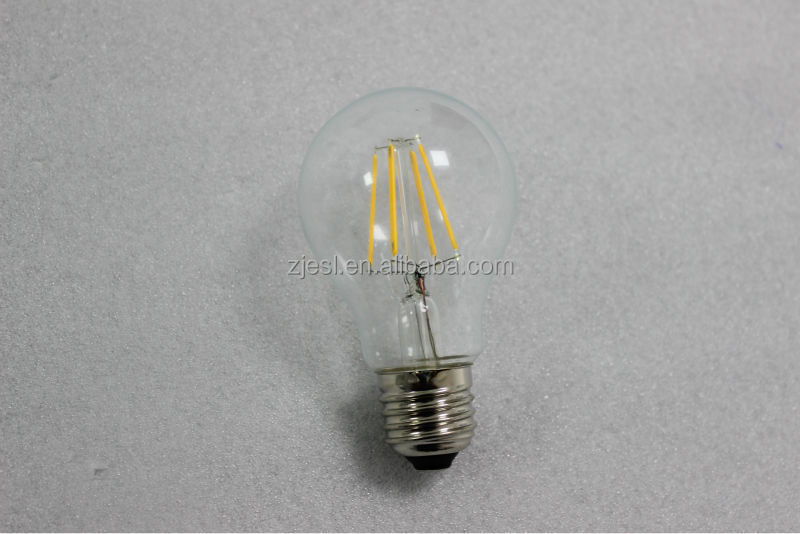 2016 New Design A60 4w Led Filament Led Light Bulbs Made In ...
