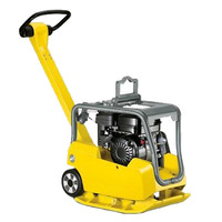 Vibrator plate compactor compacting machine with Petrol engine/handle plate compactor weight 62kg
