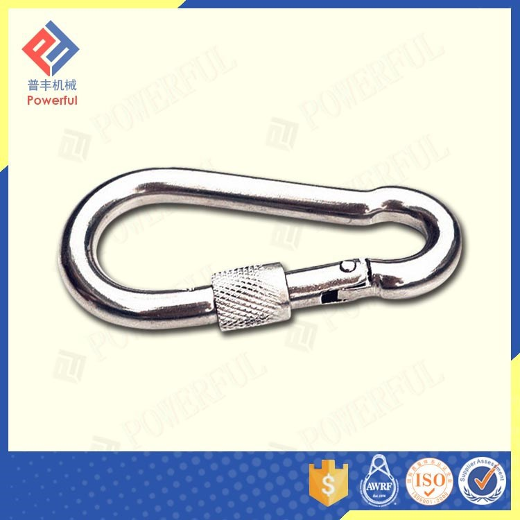 Superior Quality Standard DIN5299 Aluminum Carabiner with Screw