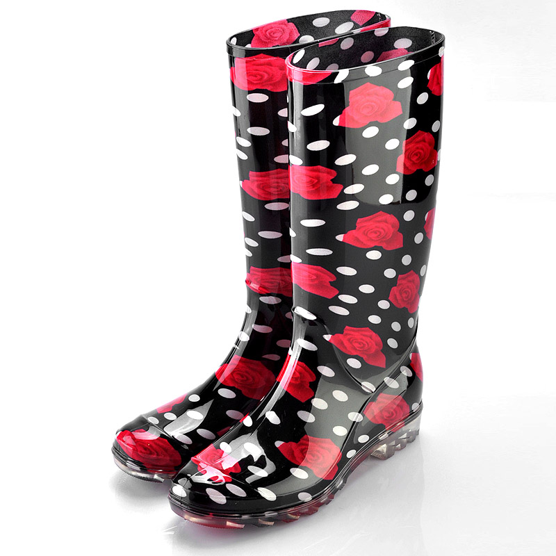 Women Plastic Boots,Transparent Rain Boots Women,Women's Colorful ...