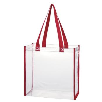 High quality clear pvc tote bag